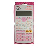 SSLAND Scientific Calculator [KT-350MS VC] - Kitty Pink (V) - Kalkulator Scientific
